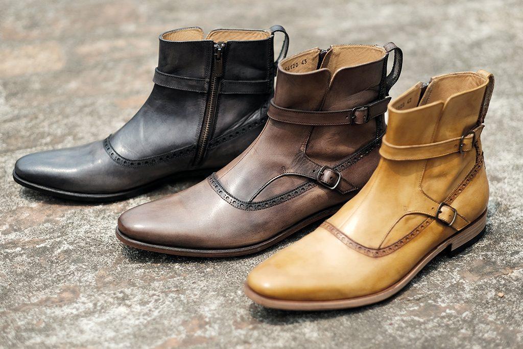 teinture chaussures cuir