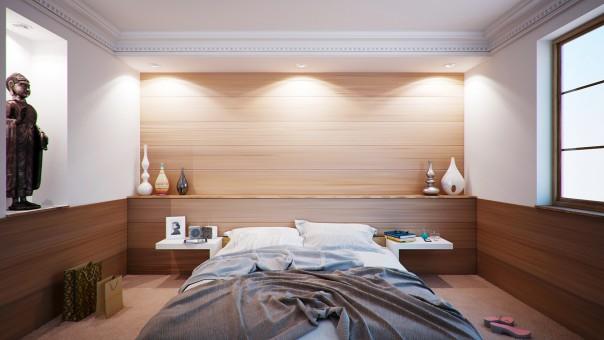 rénovation chambre à coucher